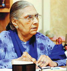 Anita Ghulam Ali (Photo source: dawn.com)