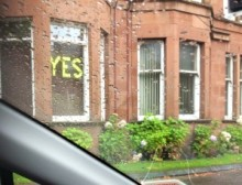 Glasgow voted YES in the referendum.- Photo by Shamima Hasan​