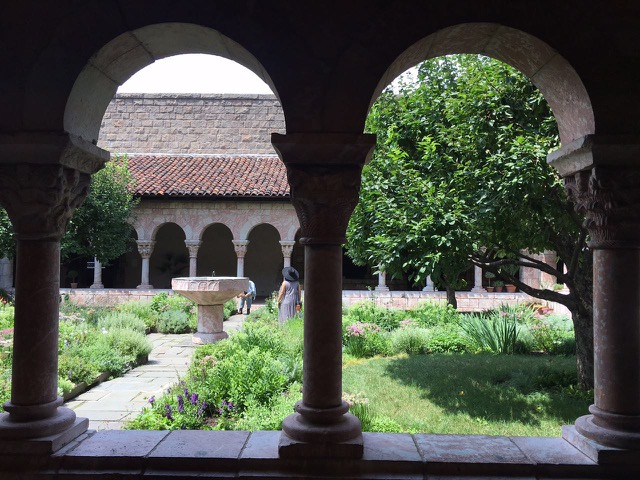 The Cloisters: Upper Manhattan part of metropolitan museum, New York